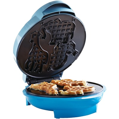 Brentwood® 750 W Non-Stick Animal Shape Waffle Maker; Blue