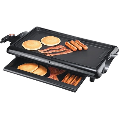 Brentwood® 1400 W Non-Stick Electric Griddle; Black
