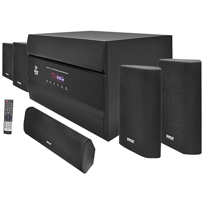 Pyle® PT628A 5.1 Channel Home Theater System, Black