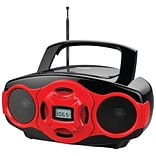 Red MP3/CD Mini Boombox And USB Player