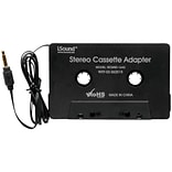 iSound® Stereo Cassette Adapter