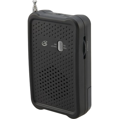 GPX® R055B Portable AM/FM Radio