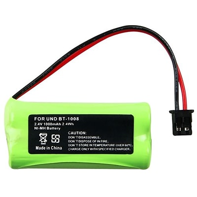 Insten® 291968 1000mAh 2.4 V Ni-MH Cordless Phone Battery For Uniden BT-1008