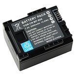 Insten® 737163 2-Piece DV Battery Bundle For Canon BP-808