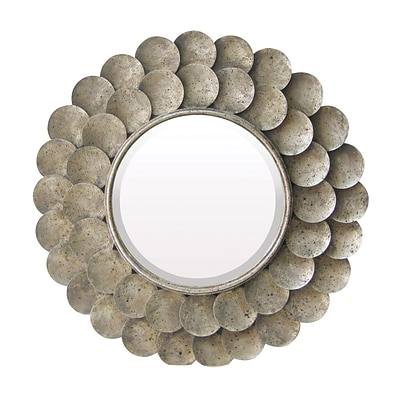 Sterling Industries 58255-2179 36Dia Harolds Grange Round Wall Mirror