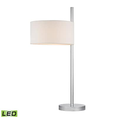 Dimond Lighting Attwood 582D2472-LED9 25 Table Lamp, Polished Nickel