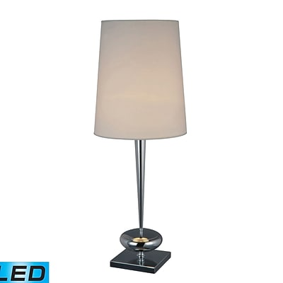 Dimond Lighting Sayre 582D1516-LED9 36 Table Lamp, Chrome
