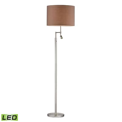 Dimond Lighting Beaufort 582D2552-LED9 60 Floor Lamp, Satin Nickel