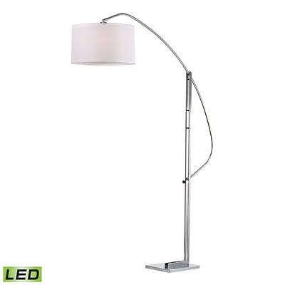 Dimond Lighting Assissi 582D2471-LED9 50 Floor Lamp, Polished Nickel