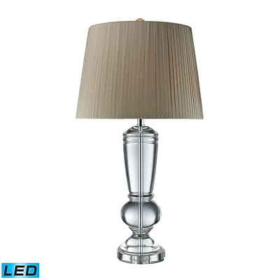 Dimond Lighting Castlebridge 582D1811-LED9 33 Table Lamp; Clear