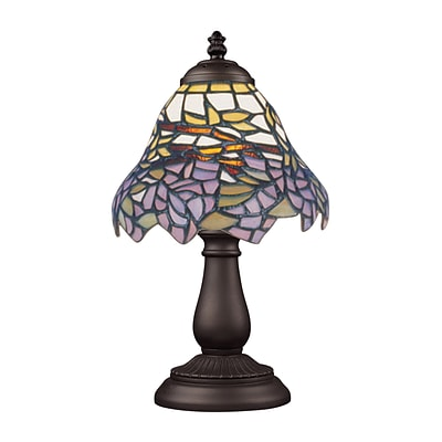 Elk Lighting/Landmark Lighting Mix &Match 582080-TB-289 13 Incandescent Table Lamp; Tiffany Bronze