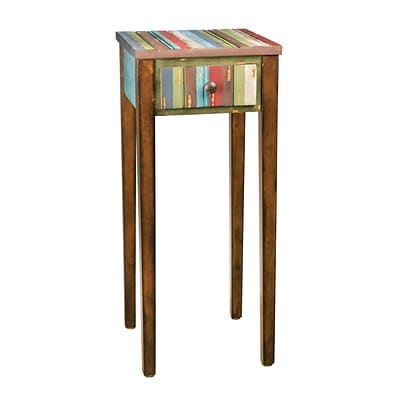 Sterling Industries 58251-30809 30 Square Accent Table; Brown
