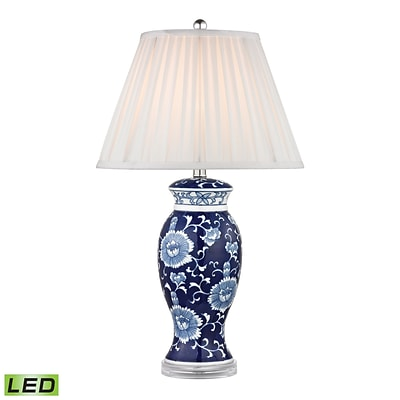 Dimond Lighting 582D2474-LED9 28 Table Lamp; Blue/White