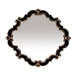 Sterling Industries 58240-2630M9 35H x 39W Frederick Medallion Diamond Wall Mirror