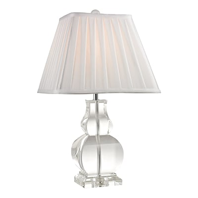 Dimond Lighting Downtown 582D24879 19 Incandescent Table Lamp; Clear
