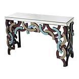 Sterling Industries 582114-699 30 Rectangle Console Table; Purple/Blue/Smoke