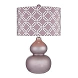 Dimond Lighting Ivybridge 582D25289 22 Incandescent Table Lamp; Lilac Luster