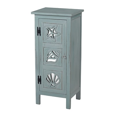 Sterling Industries Normandy Shore 582137-0069 Accent Cabinet; Quincy Green