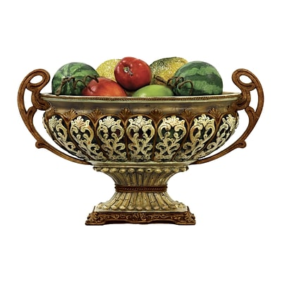 Sterling Industries 58291-39119 Gold Composite Display Bowl