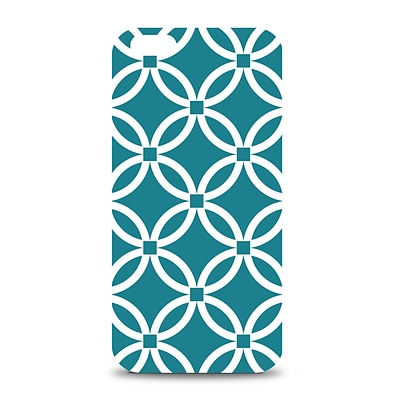OTM iPhone 6 White Glossy Case Elm Bold Collection, Teal