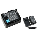 Insten® 283189 2-Piece DV Battery Bundle For Canon BP-808/BP-807/BP-809/BP-819/BP-827 Battery