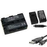 Insten® 314736 3-Piece DV Battery Bundle For Sony NP-FM500H/Alpha A850/NP-FM30/NP-FM50