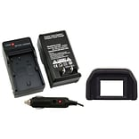 Insten® 314893 2-Piece DV Battery Charger Bundle For Canon BP-508/BP-511/BP-511A/BP-512/BP-514