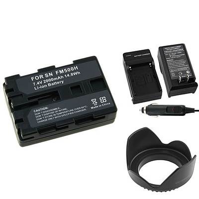 Insten® 314928 4-Piece DV Battery Bundle For Sony NP-FM500H/Alpha A850/Sony NP-FM30/NP-FM50 (314928)