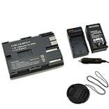 Insten® 314949 3-Piece DV Battery Bundle For Canon BP-511/58 mm Filters/Adapters/Lens