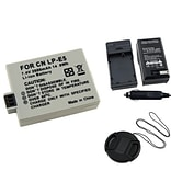 Insten® 314959 3-Piece DV Battery Bundle For EOS Rebel Xsi/Canon LP-E5