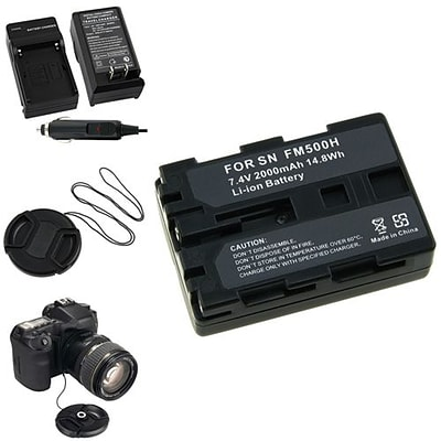 Insten® 315001 4-Piece DV Battery Bundle For Sony NP-FM500H/Alpha A850/Sony NP-FM30/NP-FM50