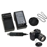 Insten® 315017 3-Piece DV Cap Bundle For Canon LP-E8