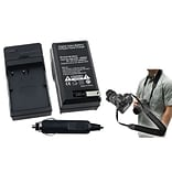 Insten® 352895 2-Piece DV Battery Charger Bundle For Nikon EN-EL3