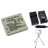 Insten® 361161 4-Piece DV Battery Bundle For PowerShot SD630/SD750/Canon NB-4L