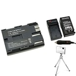 Insten® 361165 3-Piece DV Battery Bundle For Canon BP-511