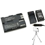 Insten® 361166 4-Piece DV Battery Bundle For Canon BP-511