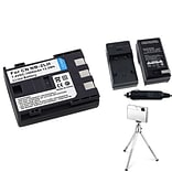 Insten® 361170 3-Piece DV Battery Bundle For Rebel XT/XTi/Canon NB-2L/BP-2L12/BP-2L14