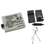 Insten® 361175 3-Piece DV Battery Bundle For EOS Rebel Xsi/Canon LP-E5
