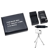 Insten® 361188 3-Piece DV Battery Bundle For Sony NP-BG1/Cyber-Shot DSC-N1/DSC-T100