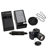 Insten® 369837 3-Piece DV Cap Bundle For Canon LP-E10 battery/58 mm Filters/Adapters/Lens