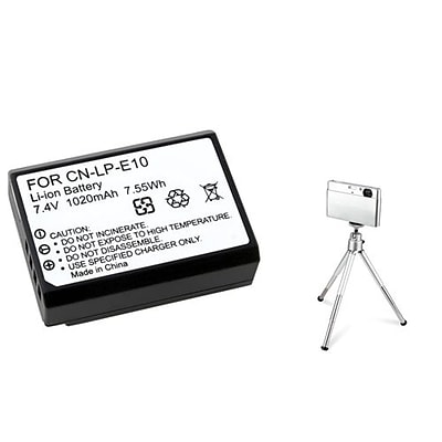 Insten® 369861 3-Piece DV Battery Bundle For Eos Rebel T3
