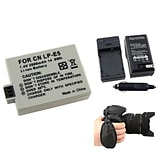 Insten® 377708 4-Piece DV Battery Bundle For EOS Rebel Xsi/Canon LP-E5