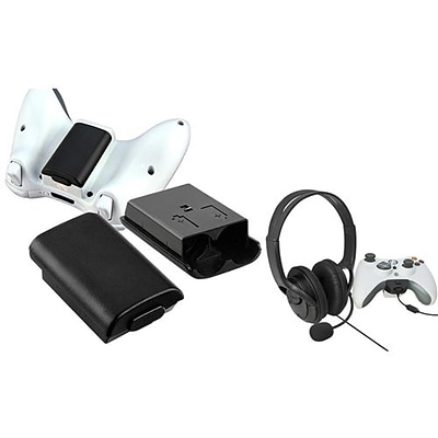 Insten® 667823 2-Piece Game Headset Bundle For Microsoft Xbox 360
