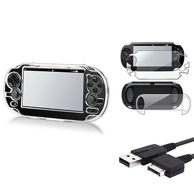 Insten® 688593 3-Piece Game Cable Bundle For Sony PlayStation Vita