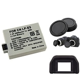 Insten® 752063 3-Piece DV Battery Bundle For EOS Rebel Xsi/Canon EOS