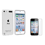 Insten® 821462 2-Piece MP3 Case Bundle For Apple iPod Touch 5th Gen