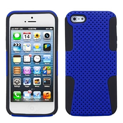 Insten® Astronoot Phone Protector Cover F/iPhone 5/5S, Dark Blue/Black