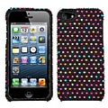 Insten® Diamante Phone Protector Cover F/iPhone 5/5S; Sprinkle Dots