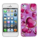 Insten® Phone Back Protector Cover F/iPhone 5/5S; Dream Hearts
