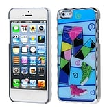 Insten® Alloy Executive Back Protector Cover F/iPhone 5/5S; Silver Plating Fashionable Trouser/Shoes